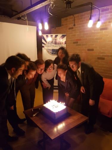 İStanbul Türkçe Toastmasters 2017-2018 YK Seçimleri Kutlaması
